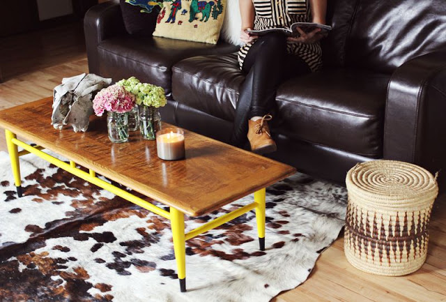 Peindre (tous) les pieds des meubles