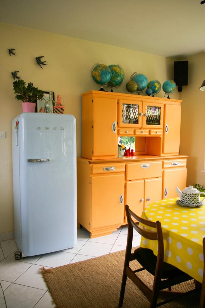 Avant apres le buffet for Petit meuble cuisine retro