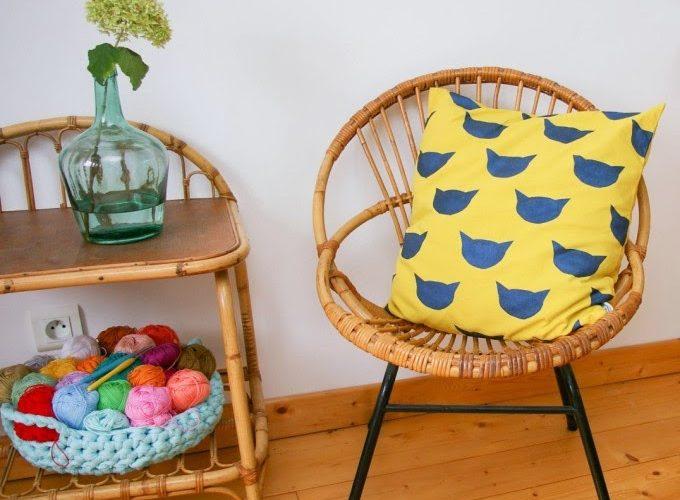 DIY : une housse de coussin design avec Zalando