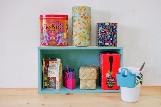 DIY: une petite étagère pour le Tea Time