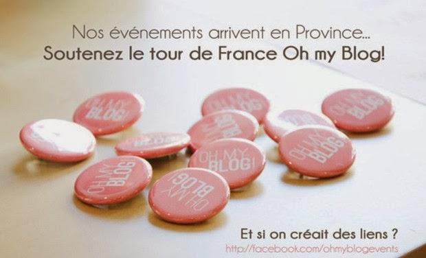 Le projet de Oh My Blog : un tour de France créatif