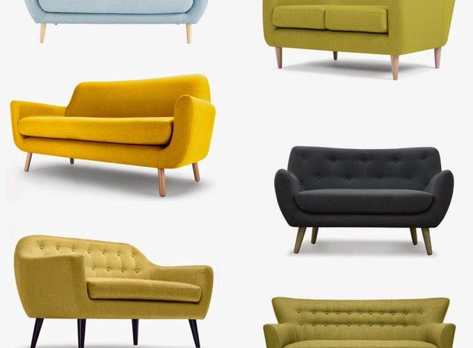 Sélection de jolis canapés design à petits prix