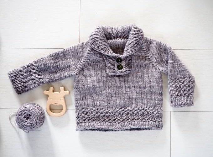Tricot : le pull « Boy Sweater »