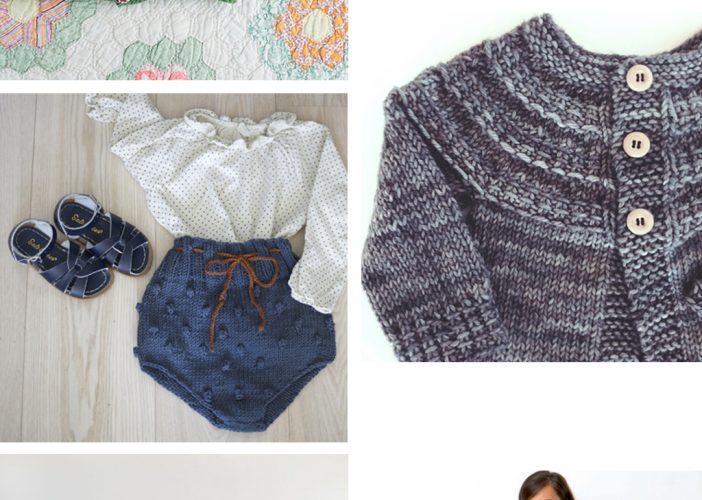 Mes prochains projets tricot et crochet #1