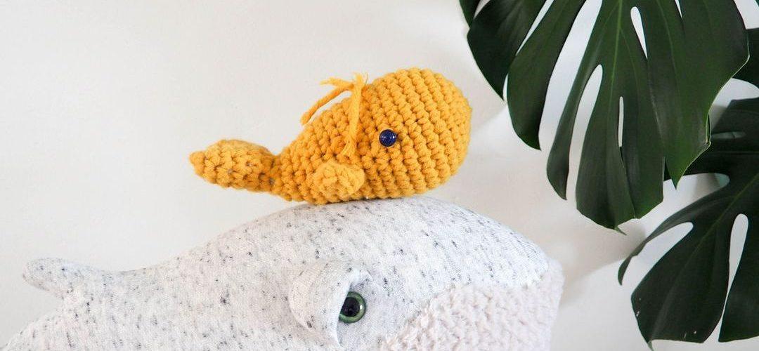 Un baleineau au crochet avec Chouette Kit