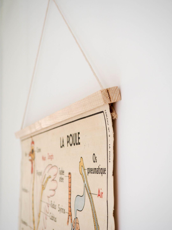Porte affiche aimanté DIY