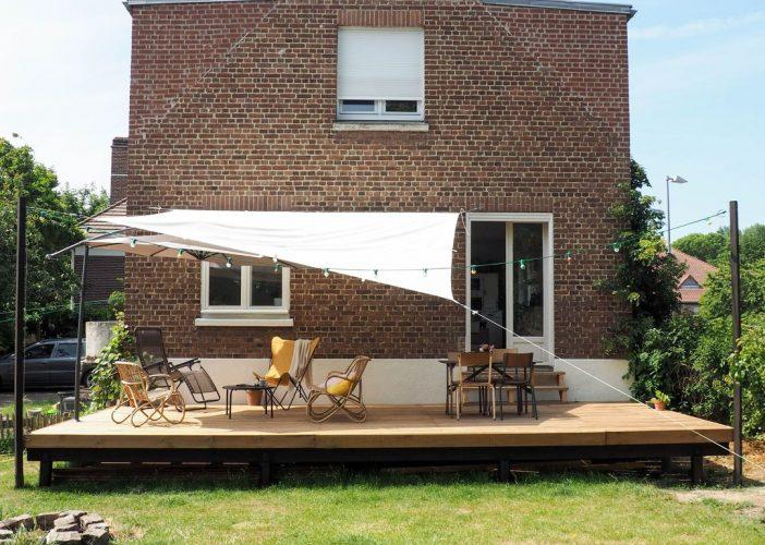 L'aménagement de la terrasse: le coin salon
