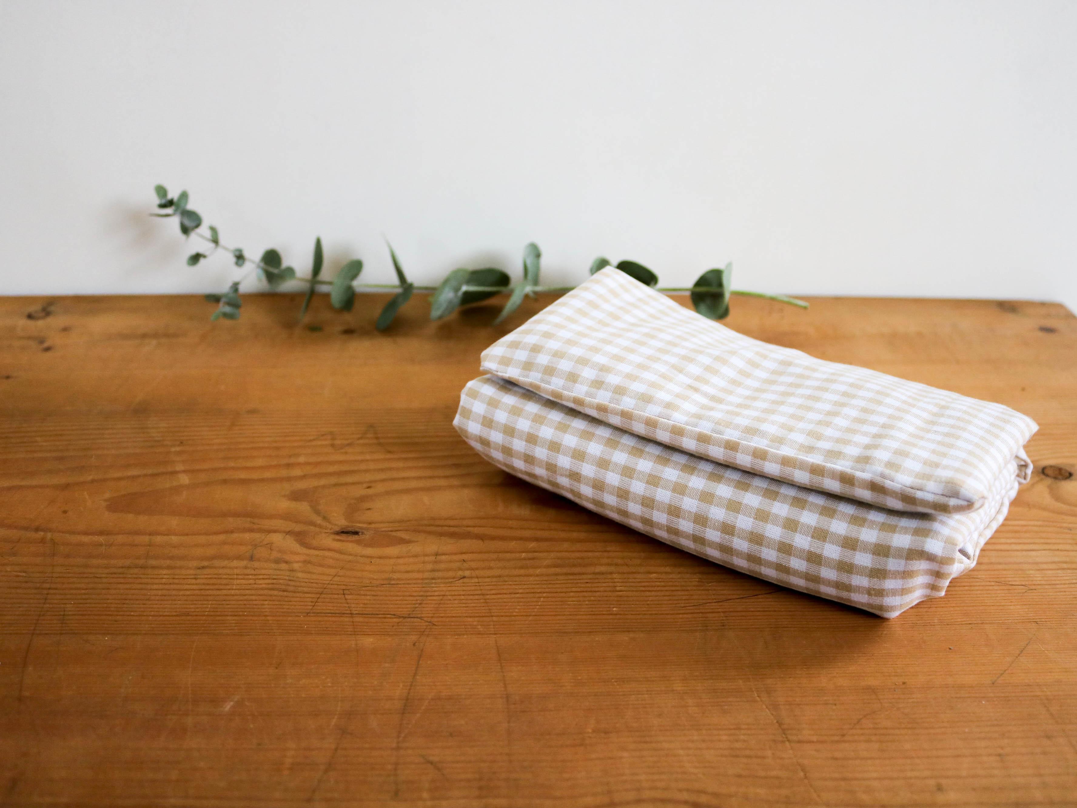 bouillotte en graines de lin coussin chauffant relaxant. Black Bedroom Furniture Sets. Home Design Ideas