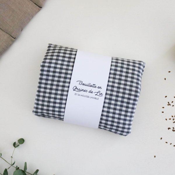 Bouillotte en graines de lin coussin chauffant relaxant bonjour tangerine france (78)