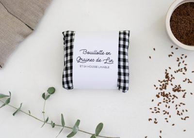 Bouillotte en graines de lin coussin chauffant relaxant bonjour tangerine france (103)